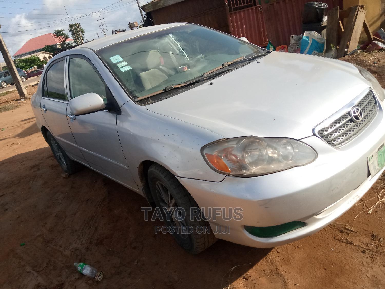 Archive: Toyota Corolla 2007 1.8 VVTL-i TS Silver