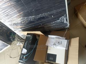 3kva Inverter 24v LIFEPO4 Battery 460w PROMO PACKAGE   Solar Energy for sale in Lagos State, Badagry