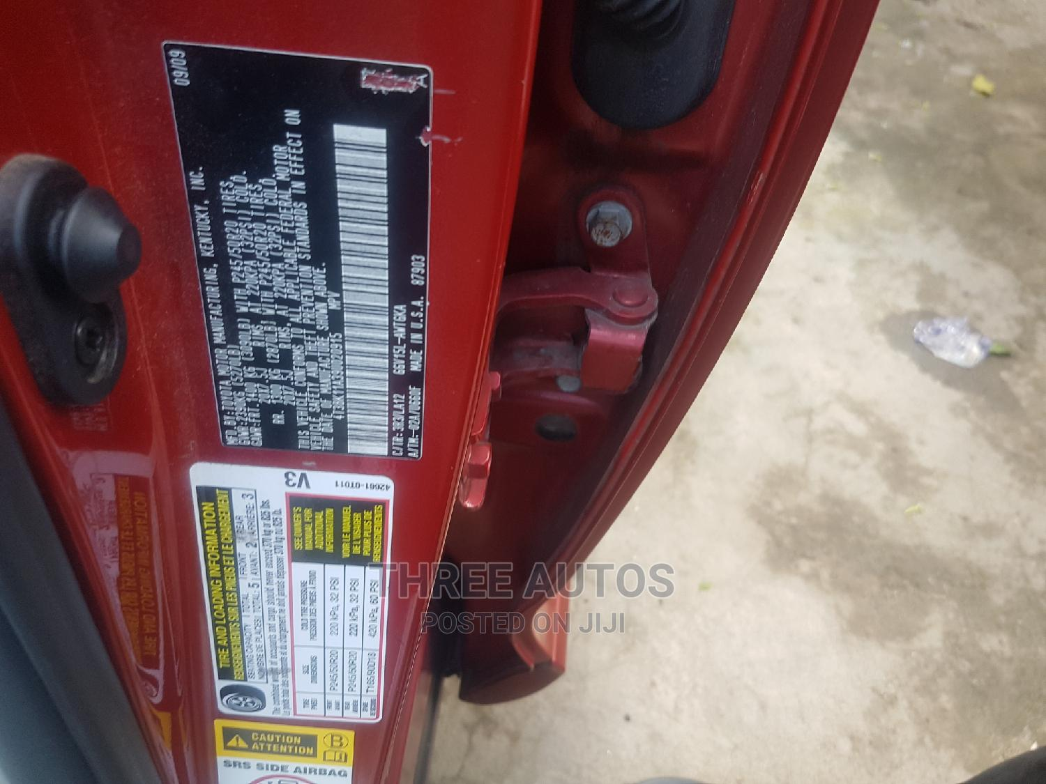 Toyota Venza 2010 V6 AWD Red | Cars for sale in Ikeja, Lagos State, Nigeria