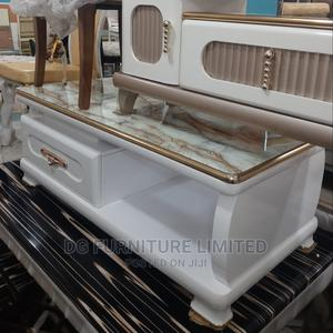 2 Drawer Centre Table With Glass Top   Furniture for sale in Lagos State, Ikorodu