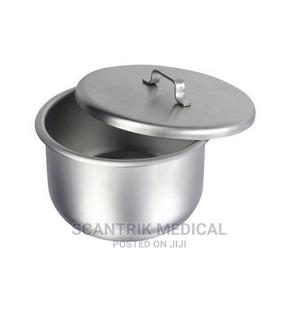 Hospital Gallipot Stainless Steel With Lid | Medical Supplies & Equipment for sale in Abuja (FCT) State, Gwarinpa