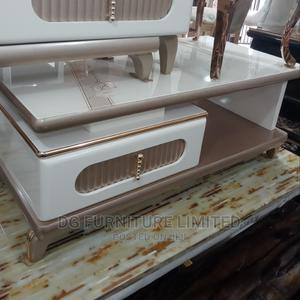 Centre Table With Glass Top   Furniture for sale in Lagos State, Ilupeju