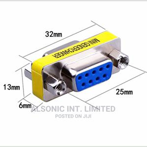 Mini Gender Changer 9 Pin RS232 DB9 Male To Female Serial Ad | Accessories & Supplies for Electronics for sale in Abuja (FCT) State, Wuse