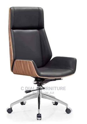 Luxury Brown and Black Executive Chair   Furniture for sale in Lagos State, Surulere