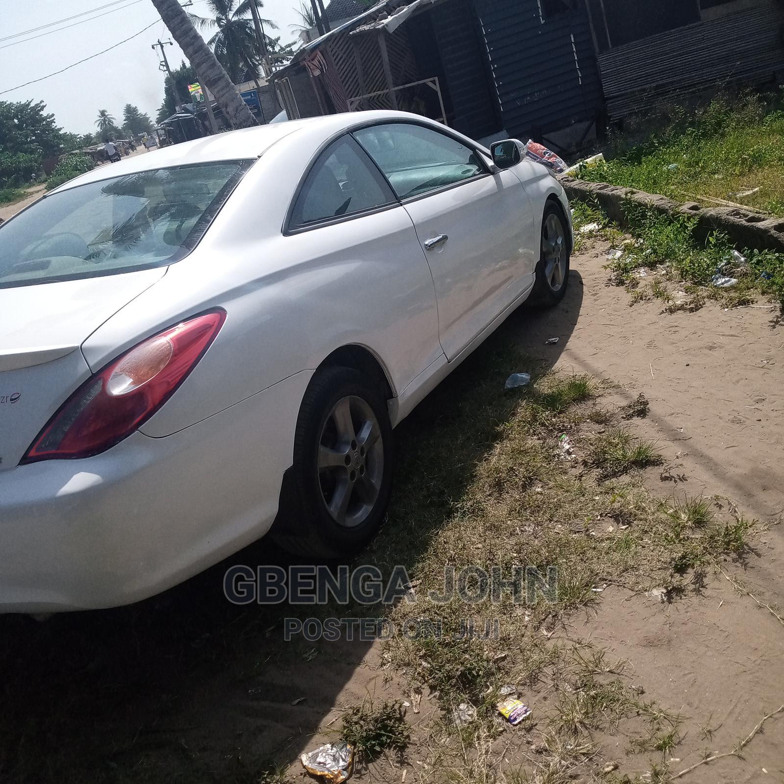 Toyota Solara 2006 White | Cars for sale in Badagry, Lagos State, Nigeria