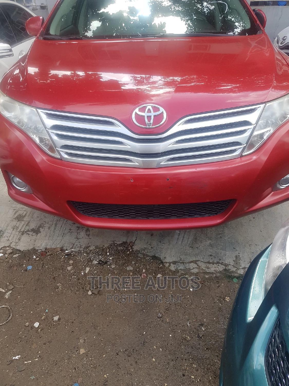 Toyota Venza 2010 V6 AWD Red