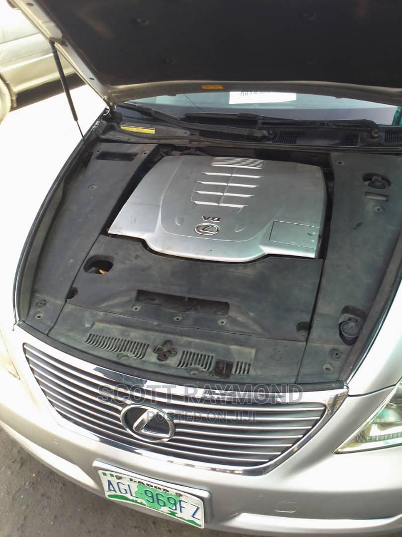 Lexus LS 2007 460 Luxury Sedan Silver | Cars for sale in Ojota, Lagos State, Nigeria