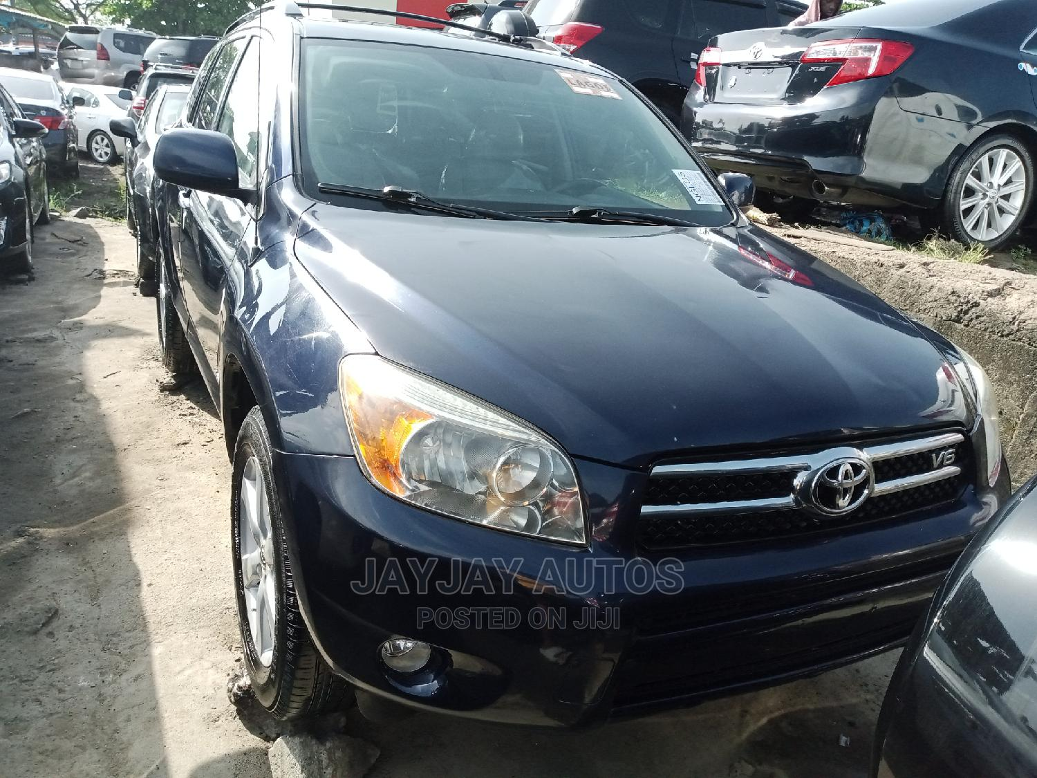 Toyota RAV4 2008 Limited V6 Blue   Cars for sale in Apapa, Lagos State, Nigeria
