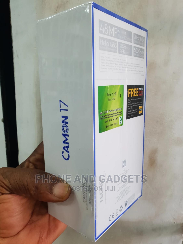 New Tecno Camon 17 128 GB Blue | Mobile Phones for sale in Ikeja, Lagos State, Nigeria