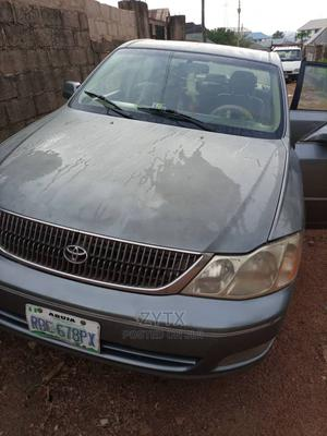 Toyota Avalon 2003 XL W/Bucket Seats Gray | Cars for sale in Plateau State, Jos