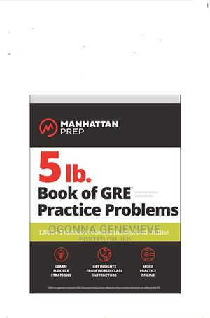 Manhattan Prep 5ib Book of GRE Practical Problems   Books & Games for sale in Lagos State, Yaba