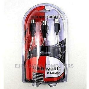 USB Midi Cable   Accessories & Supplies for Electronics for sale in Lagos State, Lagos Island (Eko)