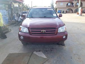 Toyota Highlander 2005 V6 4x4 Red | Cars for sale in Lagos State, Amuwo-Odofin