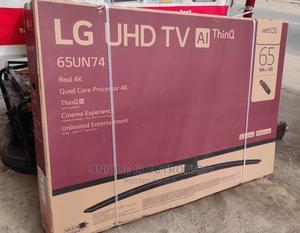 'LG 65'' Real 4K Uhd Smart TV Bluetooth, Magic Remote Wifi   TV & DVD Equipment for sale in Lagos State, Apapa