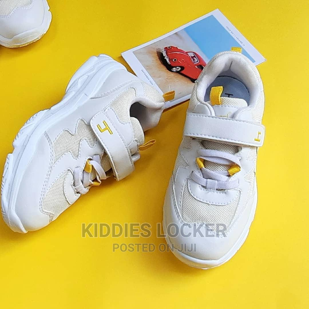 White Chunky Sneakers