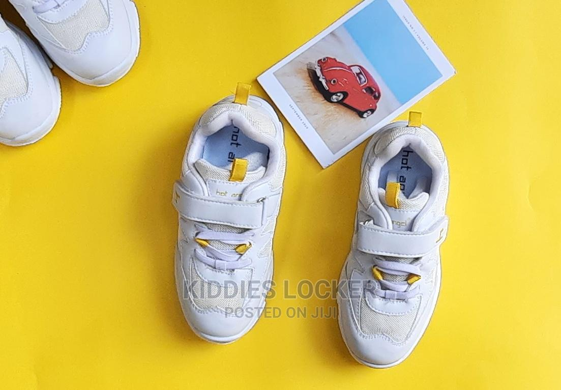 White Chunky Sneakers | Children's Shoes for sale in Surulere, Lagos State, Nigeria