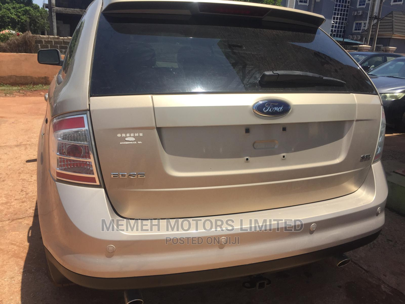 Ford Edge 2007 Gold