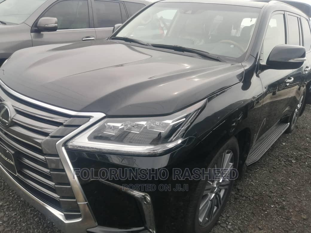 Lexus LX 2017 570 Base Black | Cars for sale in Obio-Akpor, Rivers State, Nigeria
