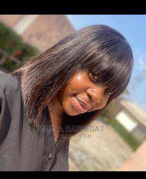 Pure Human Hair Fringe Wig   Hair Beauty for sale in Delta State, Ethiope East