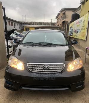Toyota Corolla 2007 S Black | Cars for sale in Lagos State, Ogba