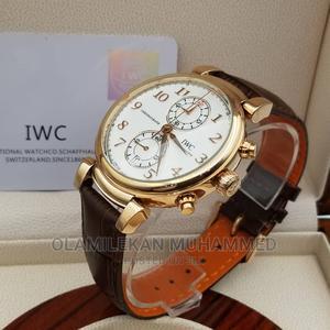 IWC Schaffhausen Leather Watch   Watches for sale in Lagos State, Lagos Island (Eko)