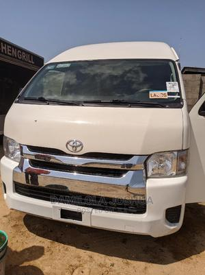 Clean Foreign Used Tokunbo 2016 Toyota Hiace Hummer Bus | Buses & Microbuses for sale in Lagos State, Ogudu