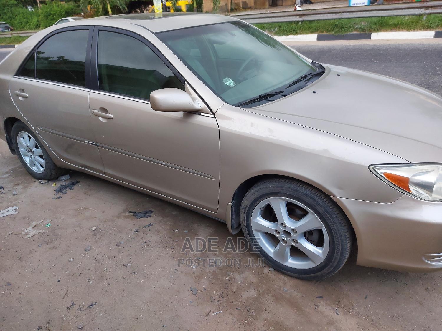 Toyota Camry 2003 Gold | Cars for sale in Surulere, Lagos State, Nigeria