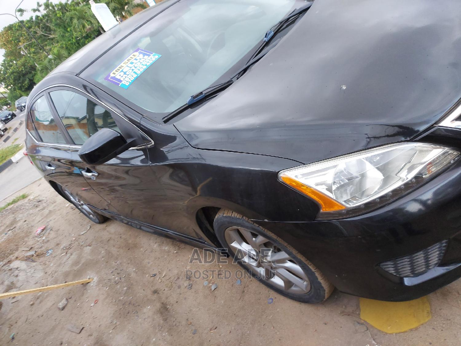 Nissan Sentra 2014 Black | Cars for sale in Surulere, Lagos State, Nigeria
