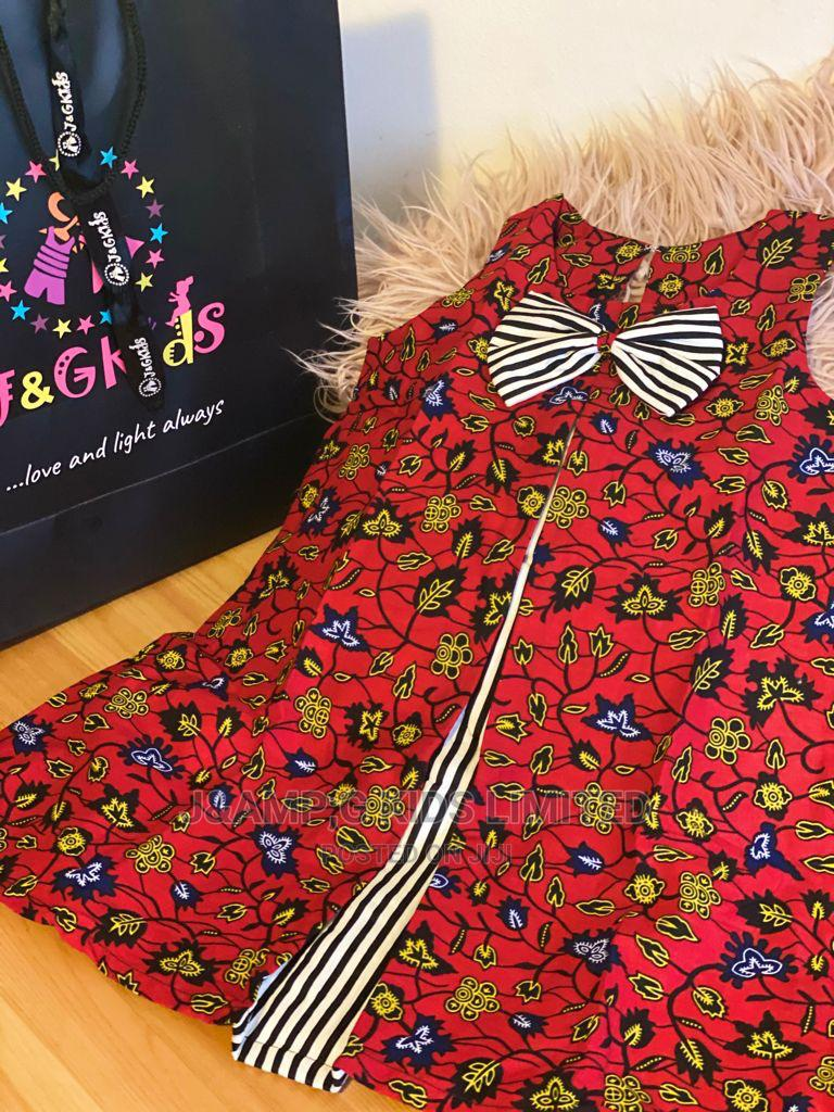 Ankara Shift Dress   Children's Clothing for sale in Lekki, Lagos State, Nigeria