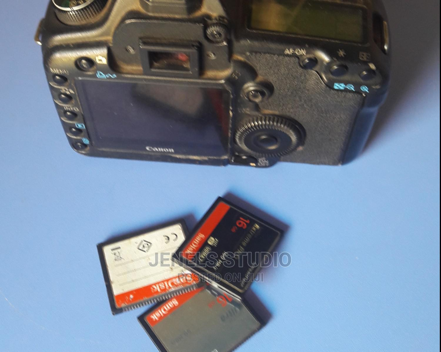 Canon EOS 5D Mark II and Three Free CF Card | Photo & Video Cameras for sale in Kubwa, Abuja (FCT) State, Nigeria
