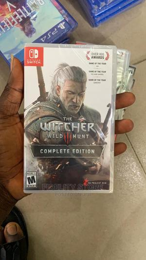 Nintendo Switch the Witcher Wild 3 Hunter Complete Edition | Video Games for sale in Lagos State, Ikeja
