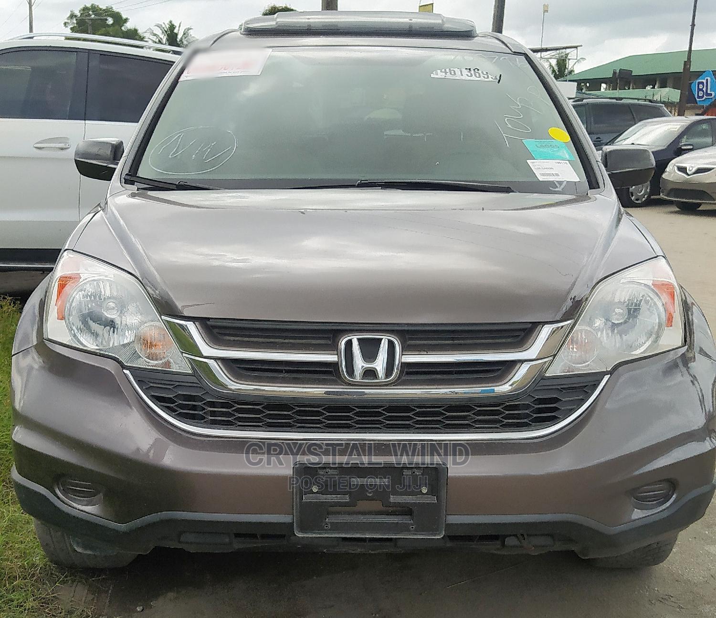 Honda CR-V 2010 Brown   Cars for sale in Ajah, Lagos State, Nigeria