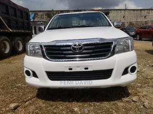 Toyota Hilux 2012 2.7 VVT-i 4X4 SRX White   Cars for sale in Lagos State, Magodo