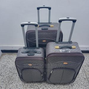 Standard Ash Faux Leather Luggage Bag | Bags for sale in Lagos State, Ikeja