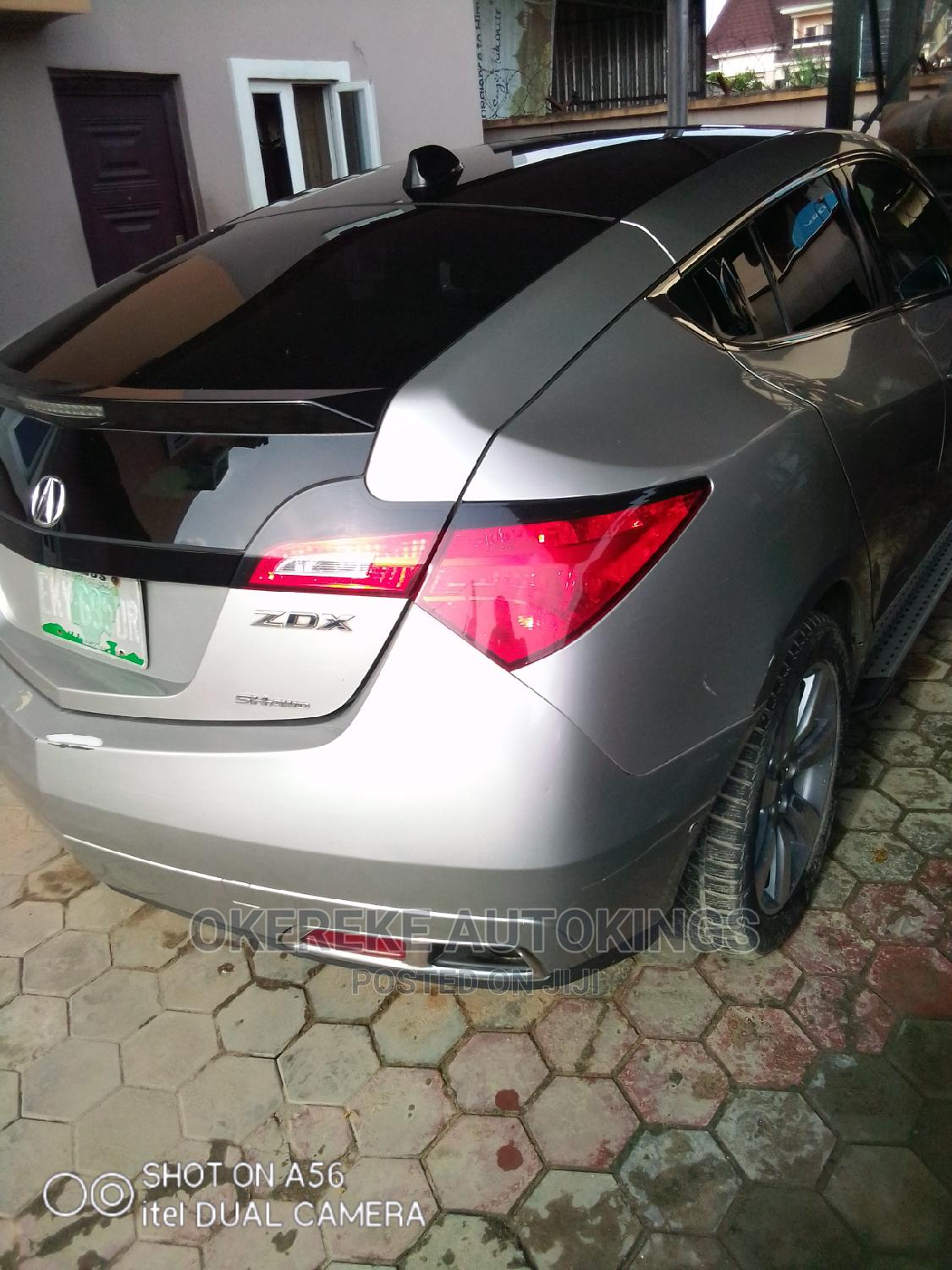 Acura ZDX 2011 Base AWD Silver | Cars for sale in Apapa, Lagos State, Nigeria