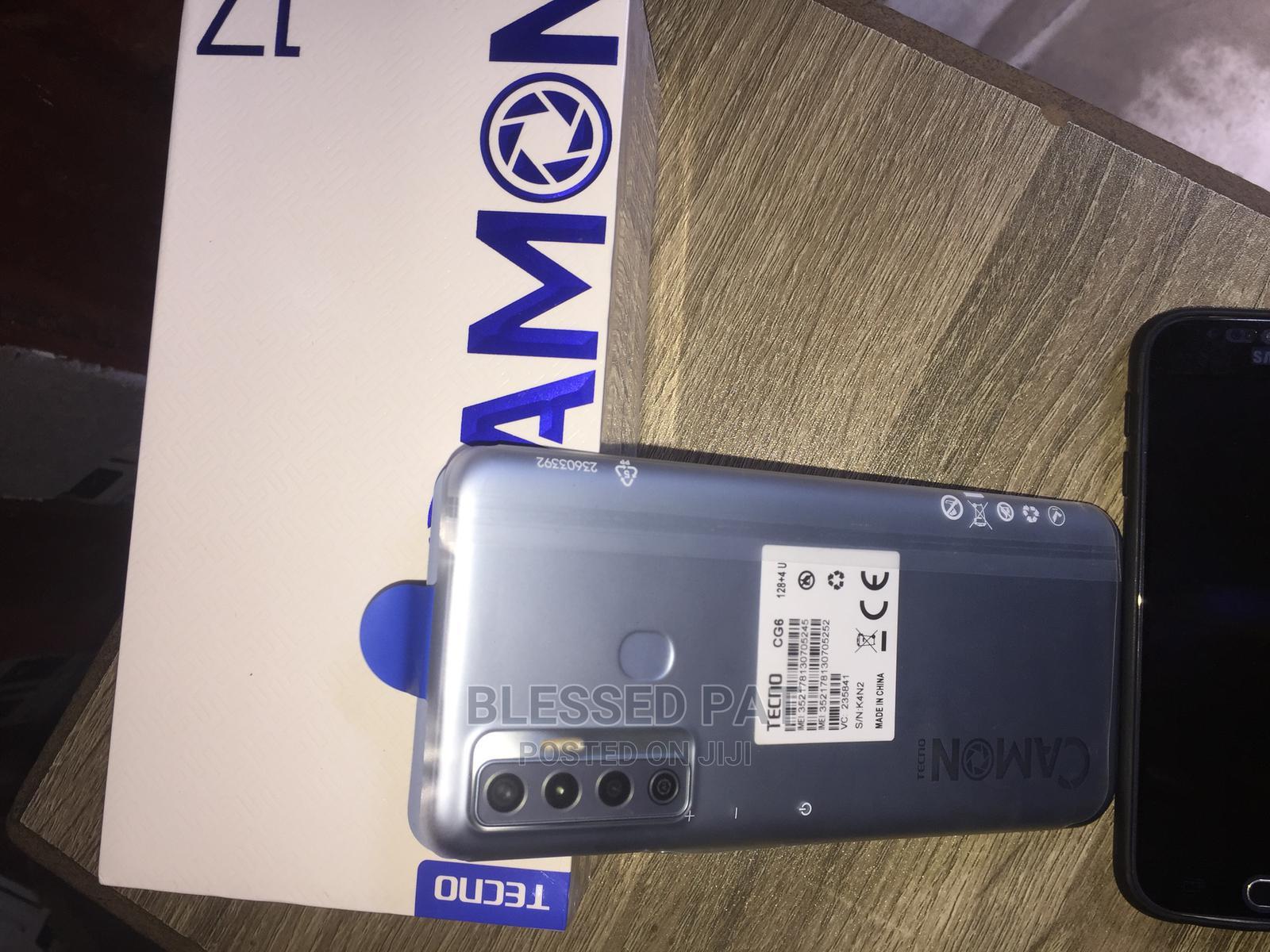 Archive: New Tecno Camon 17 128 GB Gray