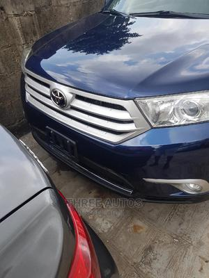 Toyota Highlander 2013 3.5L 4WD Blue   Cars for sale in Lagos State, Ikeja