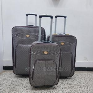 4 Wheel 3 Set Ash Trolley Luggage Box | Bags for sale in Lagos State, Ikeja