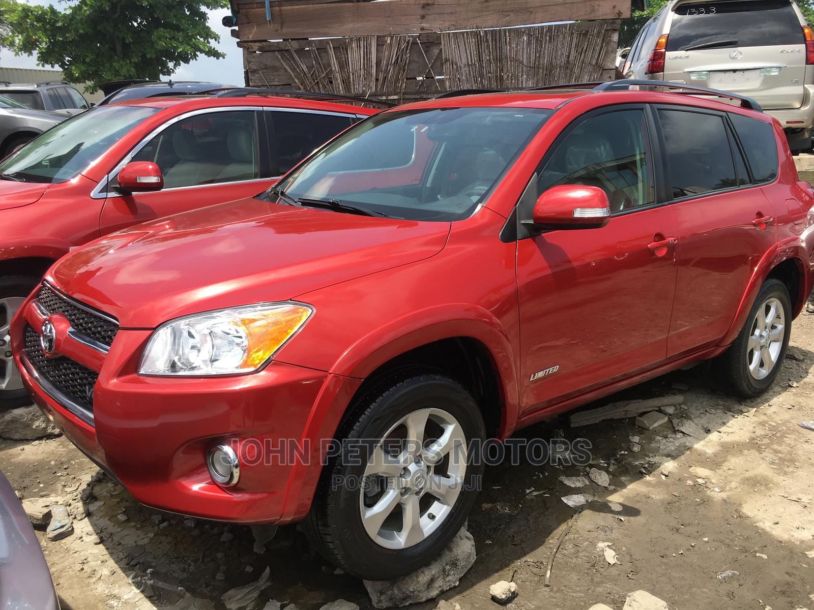 Toyota RAV4 2012 3.5 Limited 4x4 Red