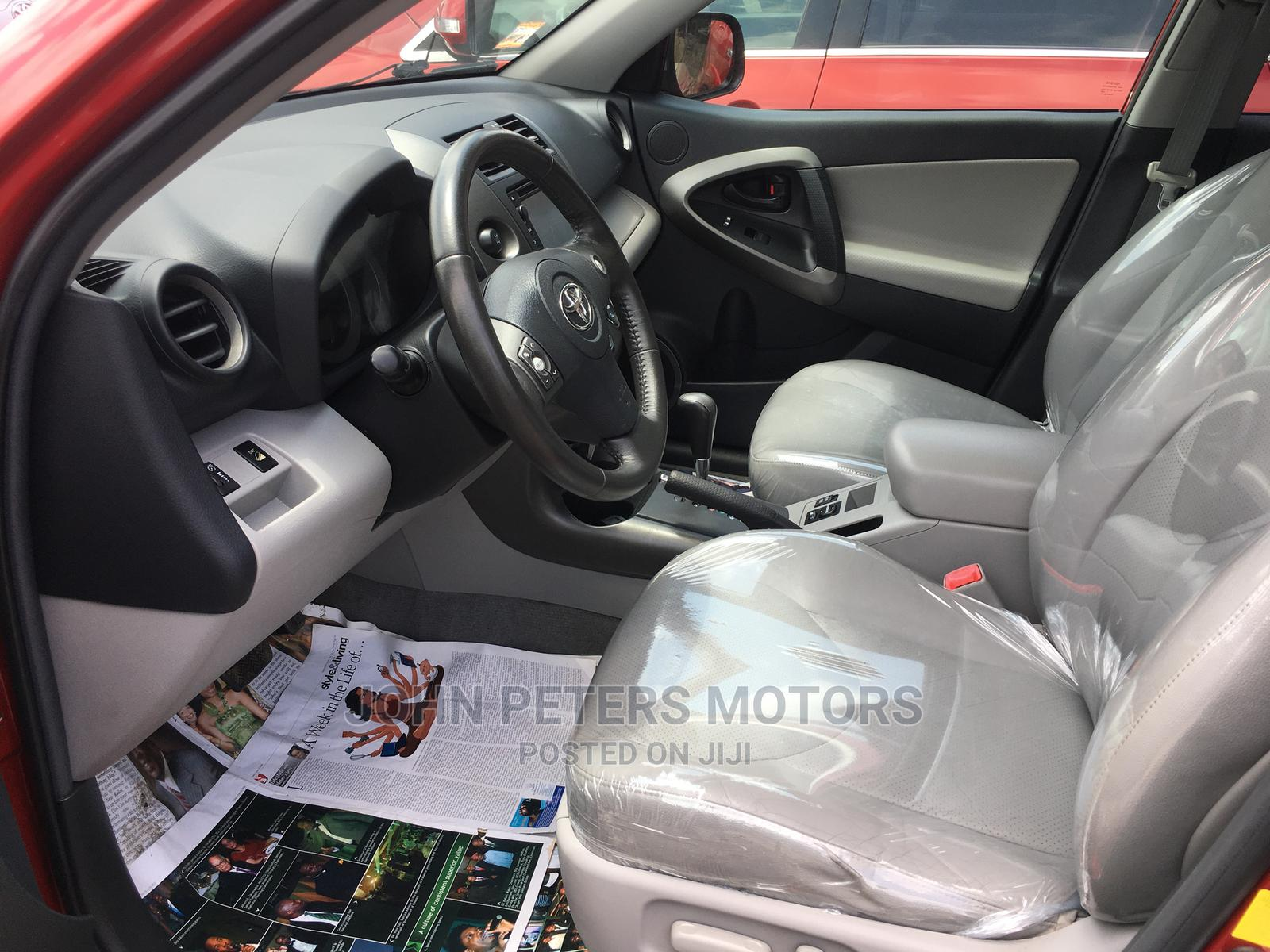 Toyota RAV4 2012 3.5 Limited 4x4 Red | Cars for sale in Apapa, Lagos State, Nigeria