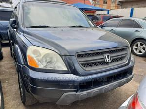 Honda Pilot 2005 EX-L 4x4 (3.5L 6cyl 5A) Gray   Cars for sale in Lagos State, Ifako-Ijaiye