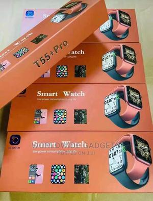 T55+ Pro Smartwatch | Smart Watches & Trackers for sale in Lagos State, Ikeja
