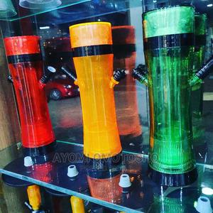 Small Plastic Pot With Light | Tobacco Accessories for sale in Lagos State, Ajah