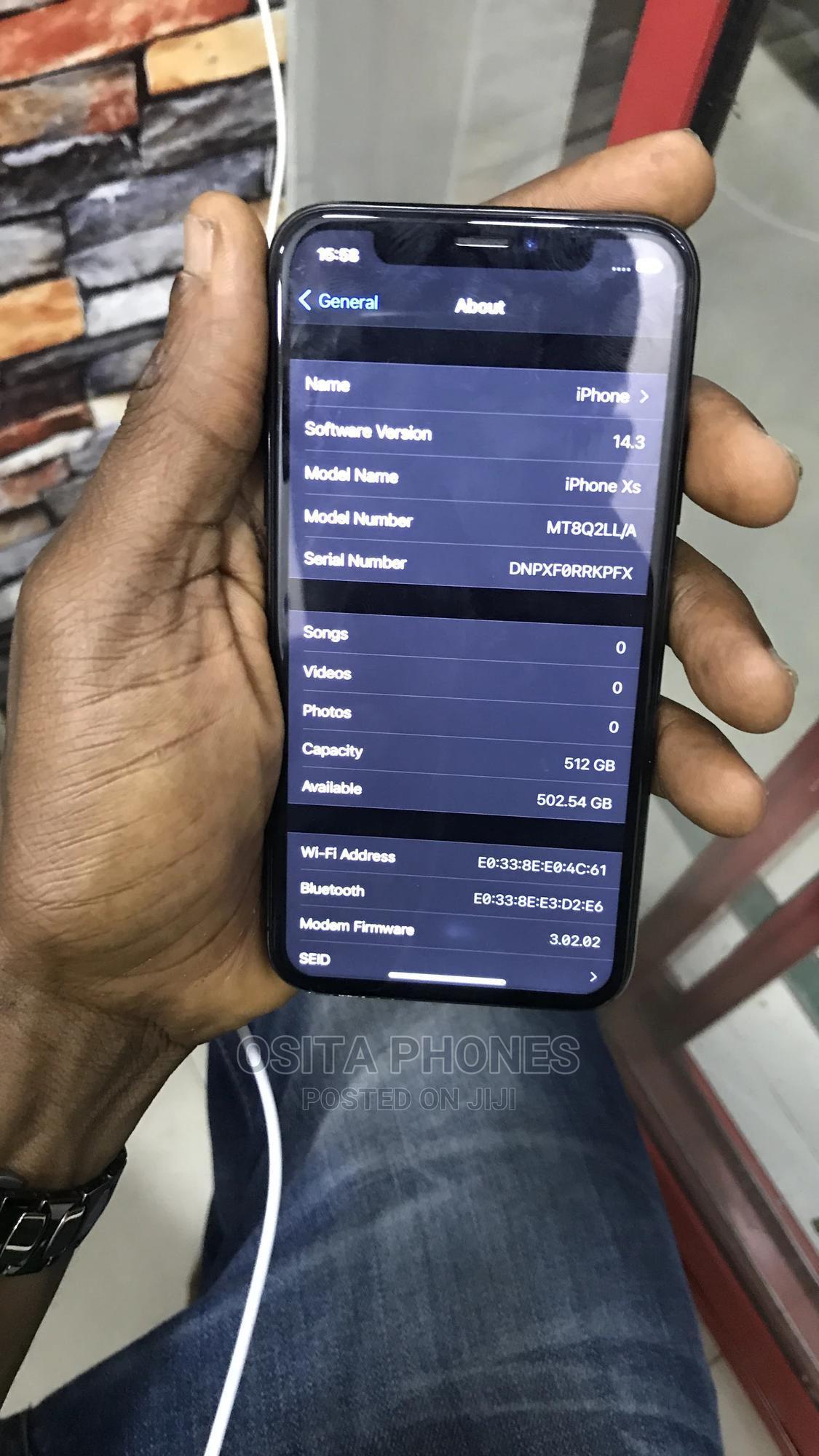 Apple iPhone XS 256 GB Blue