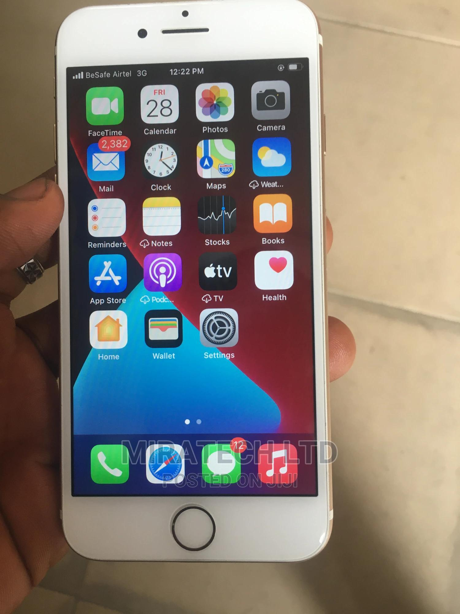 New Apple iPhone 7 32 GB Silver   Mobile Phones for sale in Surulere, Lagos State, Nigeria