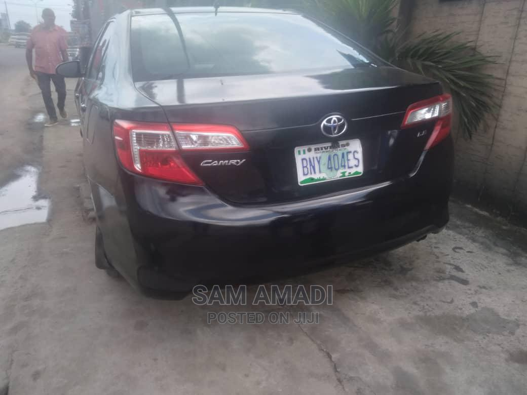 Toyota Camry 2013 Black   Cars for sale in Port-Harcourt, Rivers State, Nigeria