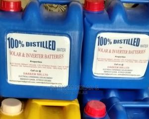 ELECTROLYTE & DISTILLED WATER For Tubular Battery | Manufacturing Materials for sale in Lagos State, Ikeja