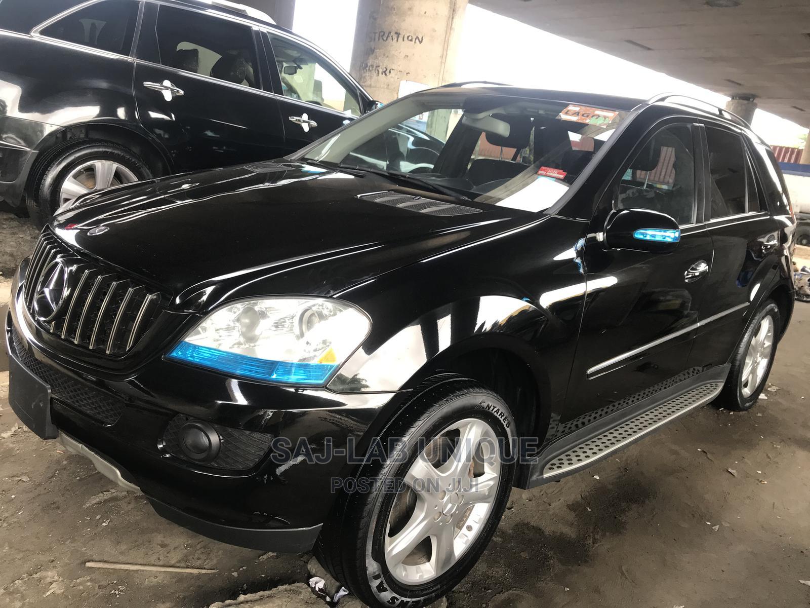 Mercedes-Benz M Class 2008 Black   Cars for sale in Apapa, Lagos State, Nigeria