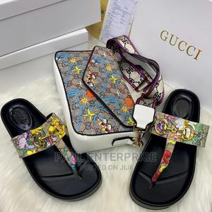 Beautiful High Quality Ladies Handbag and Slippers   Bags for sale in Lagos State, Surulere