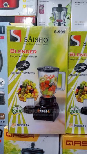 Saisho Electric Blender   Kitchen Appliances for sale in Lagos State, Lagos Island (Eko)